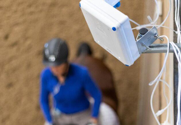 Positionssystemet kan mäta hur lång tid hästen arbetar i olika gångarter, vilket ger ett bättre underlag för att räkna ut foderstater.