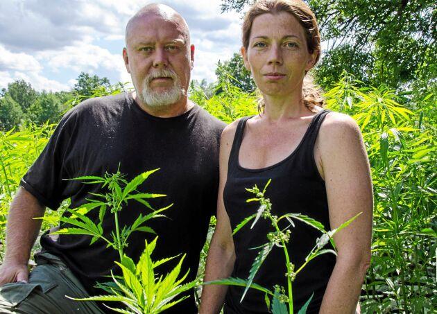 Hampaodlarna Robert Nilsson och Jeanette Lindhe.