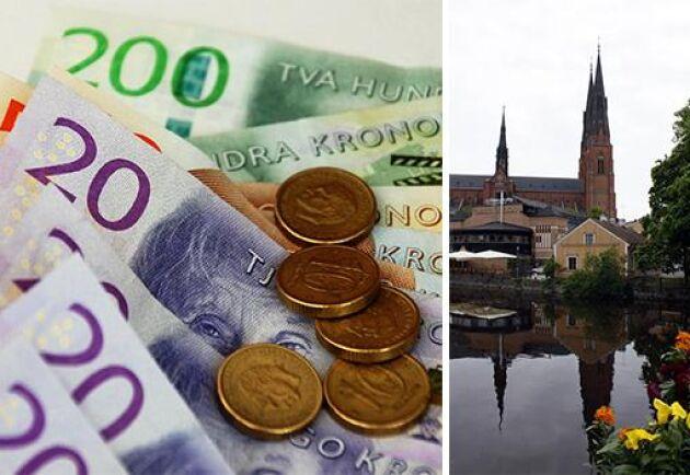 Uppsala hade högst genomsnittlig lönsamhet bland småföretagen.