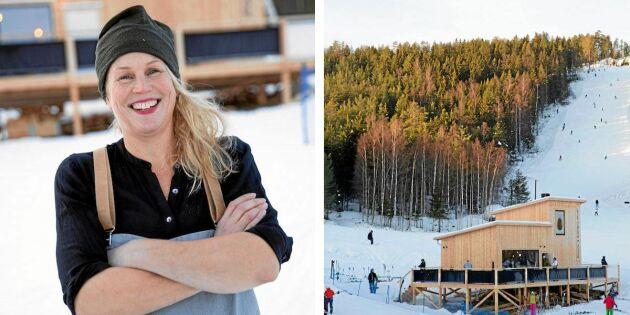 Malin bytte storstad mot Järvsö – och öppnade creperie med lokala råvaror!