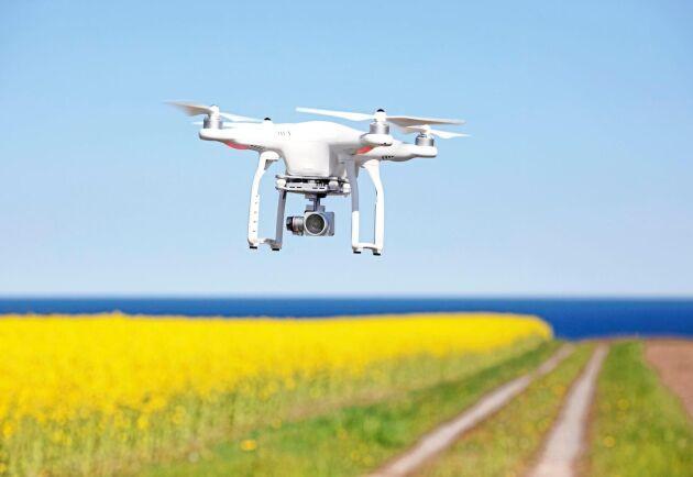 Jordbruksverket vill testa om drönare är ett bra verktyg för inspektioner inom lantbruket.