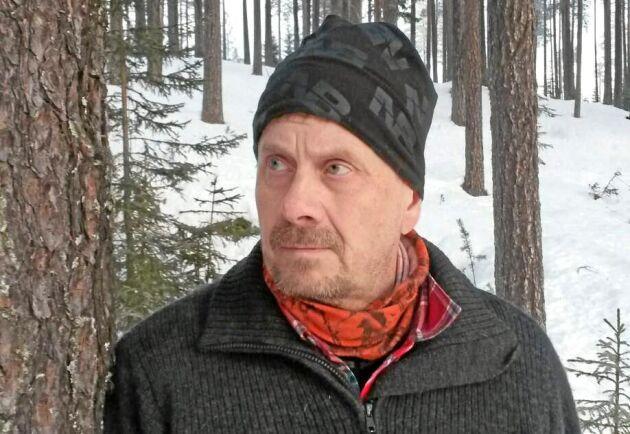 Skogsinspektor Magnus Furmark på Norra menar att det här är det värsta övergrepp han varit med om under alla år.