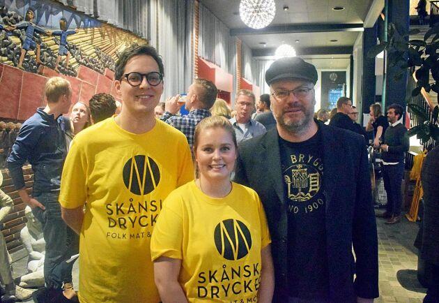 Jakob Thomsgård, Amanda Schultz och Ulrik Jönsson var några av personerna bakom arrangemanget.